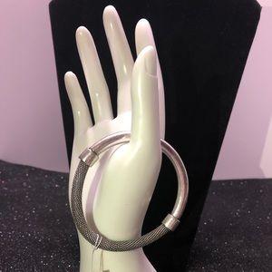 NEW Kenneth Cole Bracelet, Silver Toned Bracelet